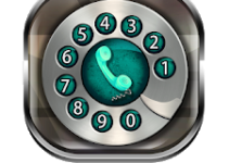 Old Phone Dialer Keypad logo