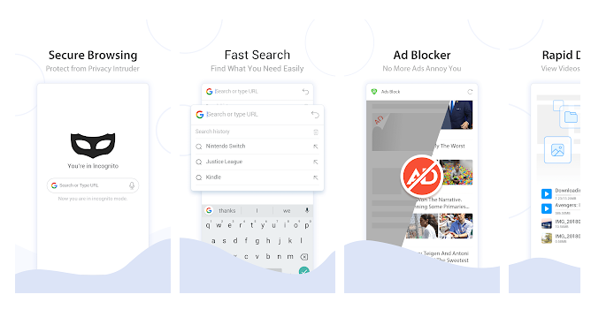 Turbo Browser Private & Adblocker & Fast Download