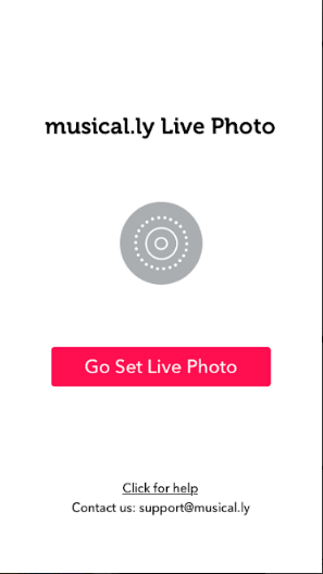 musical ly Live Photo