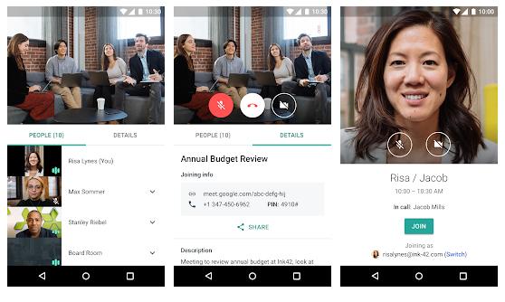 Hangouts-Meet-App