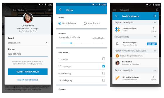 LinkedIn Job Search App