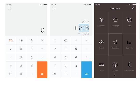 Mi Calculator App