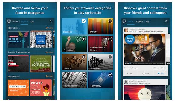 LinkedIn-SlideShare-App