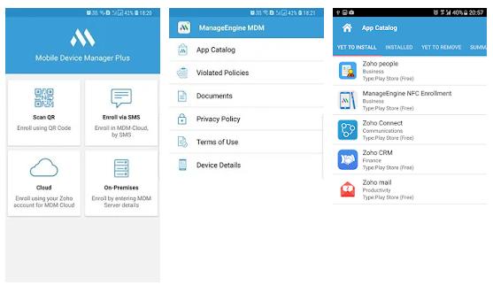 ManageEngine MDM App