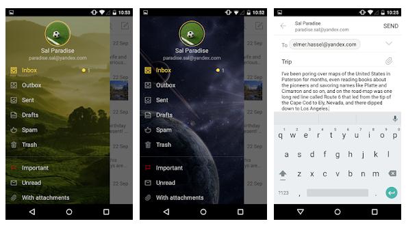 Yandex Mail App