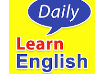 Learn English conversation logo