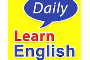 Learn English conversation logo