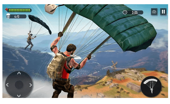 Battleground Fire Free Shooting Games 2019