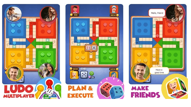 Ludo All Star Online Classic Board & Dice Game