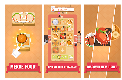 Merge Food World Dish Journey