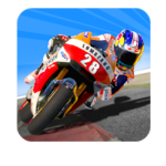 Traffic rider 3D lite ads logo
