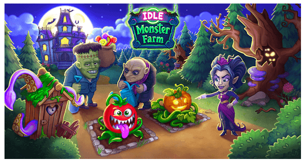Idle Monster Happy Mansion in Click Away Village